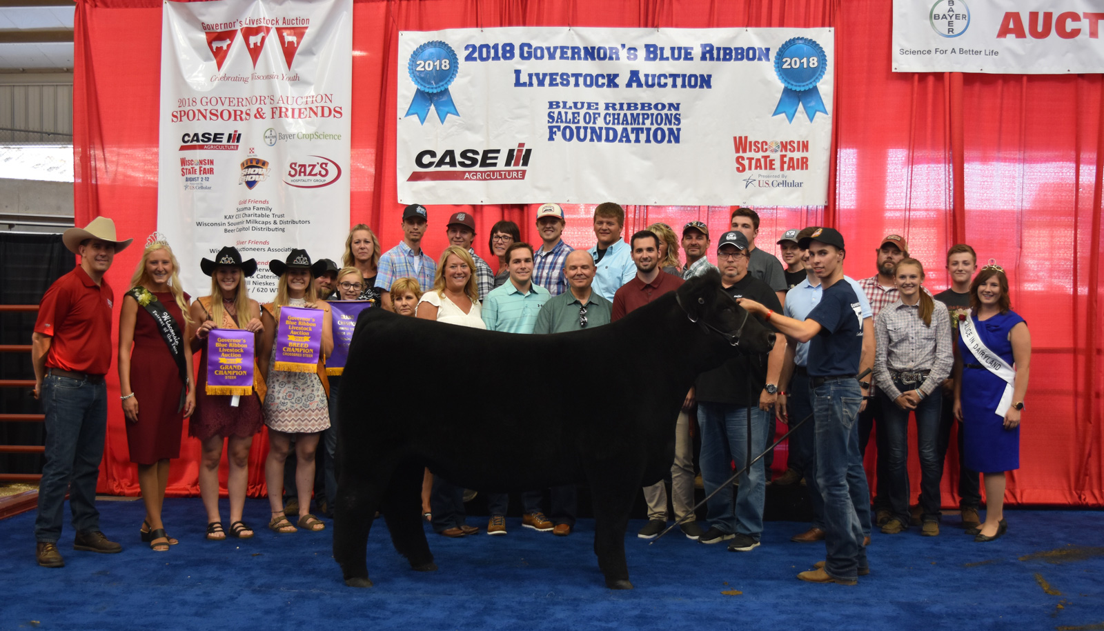 Champion Steer Reid Runkel